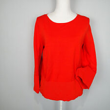 COS s  Red Cotton Pullover Jumper Sweater top