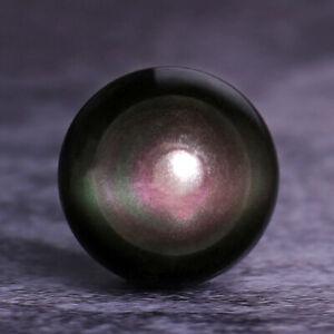 Natural Rainbow Obsidian Quartz Crystal Sphere Ball Healing Gemstone Home Decor