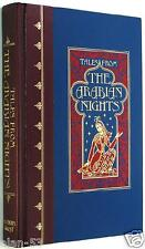 TALES FROM 1001 ARABIAN NIGHTS ~ LANG & DULAC ILLUS ~ LEATHER QUARTERBOUND