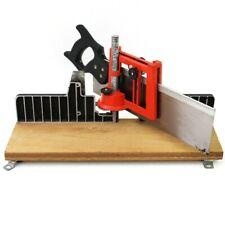 Precision a mano ad angolo retto visto Scatola Jig legno metallo Bench Tool