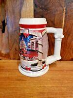 "2001 Budweiser ""Holiday at the Capitol"" Holiday Stein CS455 Signature Mug Beer"