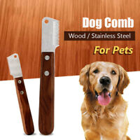 Dogs Hair Removal Walnut Material Specific Grooming Tools Pets Supplies Shaving