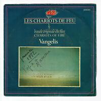 """VANGELIS Les CHARIOTS DE FEU Film B.O. Vinyle 45T 7"""" TITLES - POLYDOR 2059341"""