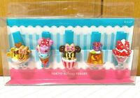 Tokyo Disney Resort Minnie Mouse Sweets Collection Ice Cream Clip Set 5 Japan