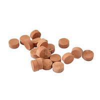 For Bach/Bundy Trombone Water Key/Spit Valve Wood Color Gasket Cork Pads