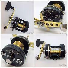 omoto CHIEF Xtreme 631CXS [LH], Fishing Reel, 6.3:1, Black/Gold