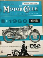 The Motor Cycle Magazine - 11 February 1960 - Canterbury Belle, AJS & Matchless