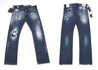 Neu Replay Maestro Nein 02 Waitom Distressed Herren Jeans W33 L34