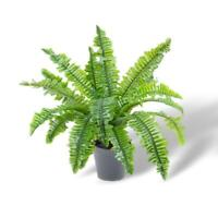 Faux Artificial BOSTON Fern Plant Potted Flower Fake Floral Garden Home Decor