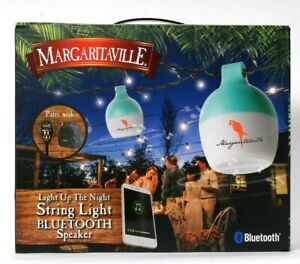 Margaritaville Light Up The Night Bright LED String Light Bluetooth Speaker