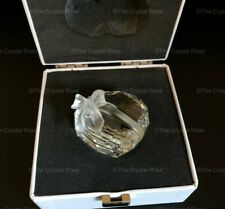 RARE Retired Swarovski Sweetheart Heart 210035 Boxed Perfect Paperweight Trinket