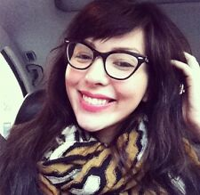 SEXY Teacher Small Cat Eye Black Nasty Hot Kitten Hip Eyeglasses Frames 1404 BLK