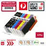 6X Ink Cartridges PGI-680XXL CLI-681XXL BK/C/M/Y/PB For Canon TS-9160 TS-8160
