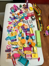 POLLY POCKET LOT Dolls, Shoes, Furniture, Escalators & Accessories . 3 POUNDS !