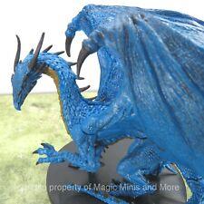 Legendary Adventures ~ HUGE BLUE DRAGON #43 Pathfinder Battles rare miniature