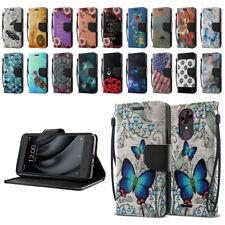 """For T-Mobile Revvl Plus 6.0"""" 3701A Flip Wallet Kickstand Cover Pouch Case"""