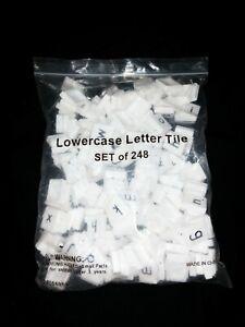 Lowercase Letter Tiles (Set Of 248)