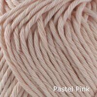 Rico Creative Cotton Aran - 100% Cotton Knitting & Crochet Yarn - Pastel Pink 22