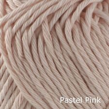 Rico Creative Cotton Aran - 100% Cotton Knitting & Crochet Yarn - Pastel Pink 02