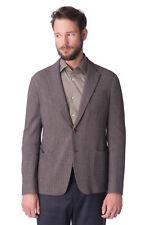 ARMANI COLLEZIONI Blazer Jacket Size 56 / XXXL Wool Blend Elbow Patches RRP €813