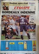 L'Equipe Journal du 21/9/1998; Bordeaux-OM 2-2/ Doohan/ Arsenal-Manchester Unite