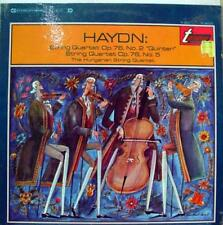 Hungarian String Quartet - Haydn Op. 76 No. 2 & No. 5 LP VG+ TV 34012S Vinyl