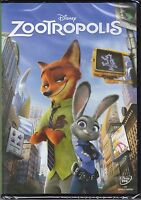Dvd Disney «ZOOTROPOLIS» nuovo 2016