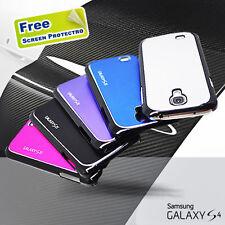 Aluminum Metal Chrome Plastic Hard Case for Samsung Galaxy S4 IV i9500 i9505