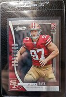 2019 PANINI ABSOLUTE #131 NICK BOSA ROOKIE CARD RC SAN FRANCISCO 49ERS MINT