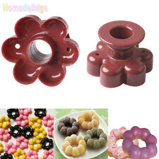 Flower Donut Cookies Cutter Pastry Pudding Cake Decor Baking Mold Mould Tools