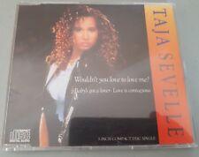 "TAJA SEVELLE WOULDN'T YOU LOVE TO LOVE ME? PRINCE RARE 1988 2 track 3"" CD single"