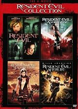 Resident Evil Horror R Rated DVDs & Blu-ray Discs