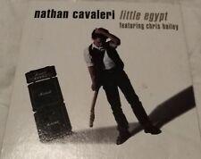 """NATHAN CAVALERI """"Little Egypt Feat. Chris Bailey"""" Rare 1992 2Trk CD *The Saints"""