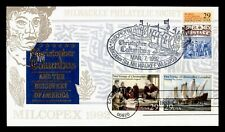 DR WHO 1992 CHRISTOPHER COLUMBUS 500TH ANNIVERSARY FDC MILCOPEX C212729