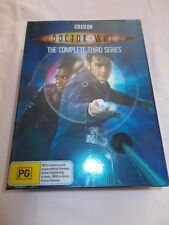 DOCTOR WHO - THE COMPLETE THIRD SERIES BOX SET - 6 X DISCS - REGION 4