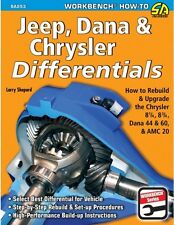 Jeep Dana Chrysler Differentials: How to Rebuild Modify WORKSHOP REPAIR MANUAL