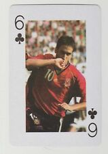 Football World Cup 2006 Playing Card single - Raul Gonzalez - Real Madrid Spain