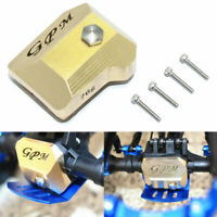 GPM TRX4012AX BRASS FRONT/REAR GEARBOX COVER FOR 1/10 RC TRAXXAS TRX-4 82056-4