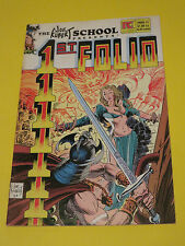 1984 1st Folio #1 The Joe Kubert School Pacific Comics March 1984