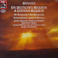 EMI DIGITAL 27 0313 3 (2LP) BRAHMS GERMAN REQUIEM *NORMAN TENNSTEDT* NM/NM