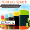 Colorful Leather Wallet Flip Stand Case Cover Samsung Galaxy S4  4G i9500 i9505