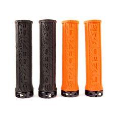 Race Face Half Nelson Lock-On Handlebar  Grip  MTB XC DH Orange-Black