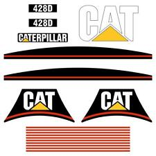 CAT 428D Decals Stickers repro Kit Decals