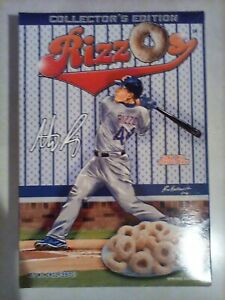 2016 Chicago Cubs Rizzos Empty Cereal Box