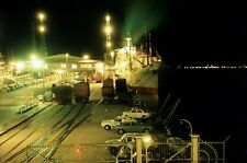 Railway Ship Color Slide Australia, Melbourne 12-1965   29