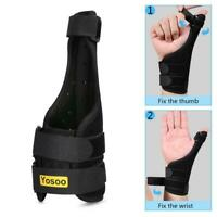 Medical Wrist Thumb Spica Hand Splint Support Brace Stabiliser Sprain Arthritis