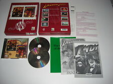 Indiana Jones Y La Ultima Cruzada & Fate of Atlantis PC CD wlr Doble Caja Grande