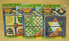 CASE OF 6  MAGNETIC GAMES - 2 EA OF 3 STYLES -   NEW -     #ZJA-3262