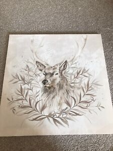 Stag Canvas Wall Art