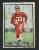 1951 Topps #1 Jimmy Monahan GVG RC Rookie 133305